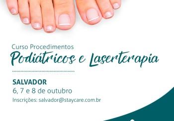 Cursos Procedimentos Podiátricos e Laserterapia – Salvador-BA